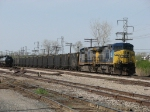 After being delivered by SBS, CSX 14 & 90 now wait to head south as N947-04