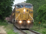 37E picks up speed as it heads south