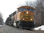 Having left Chicago as N956, BNSF 9939 & 9506 now have been recrewed and head east as D801-26