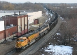BNSF 9939 & 9506 start towards the hill with D801/N956's 130 loaded coal gons