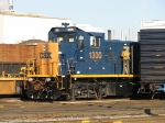 CSX 1300 receives some attention before going to work