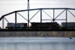 IC&E bringing IAIS 511 across the Mississippi