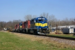 IC&E Freight waits at Princeton