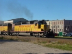 UP 3017 leads in Downtown