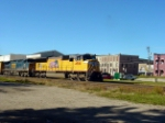 UP4906 thru downtown Morrison Illinois