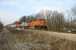 BNSF 5754 passes the old PM yard