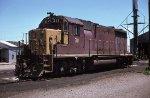Rock Island GP35 311 at Amarillo