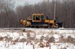 CN 618-58 BALLAST REGULATOR CLEARING SNOW