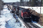 Eastbound CN freight