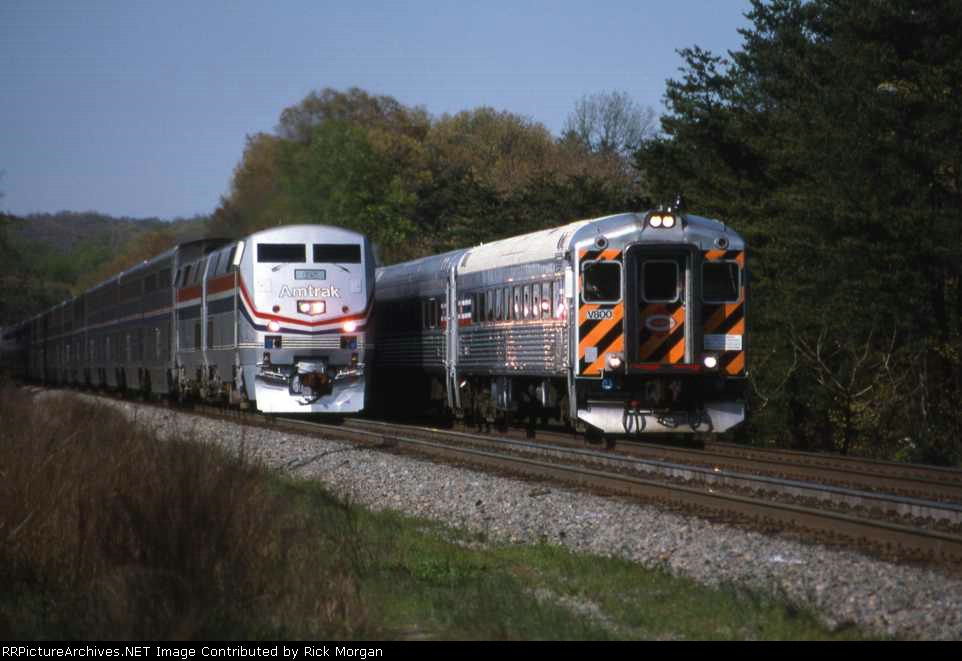 VRE and Amtrak