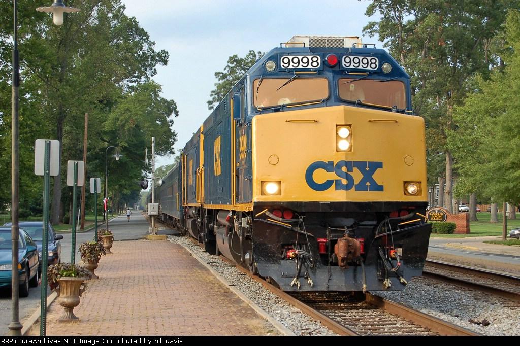 CSX OCS train P903
