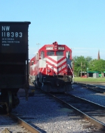 WSOR 3802 with its new Leslie honker