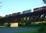 Four Units on the UP Bridge