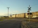 Autoracks and CSX boxcar