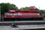 WSOR 4010 in its fresh paint