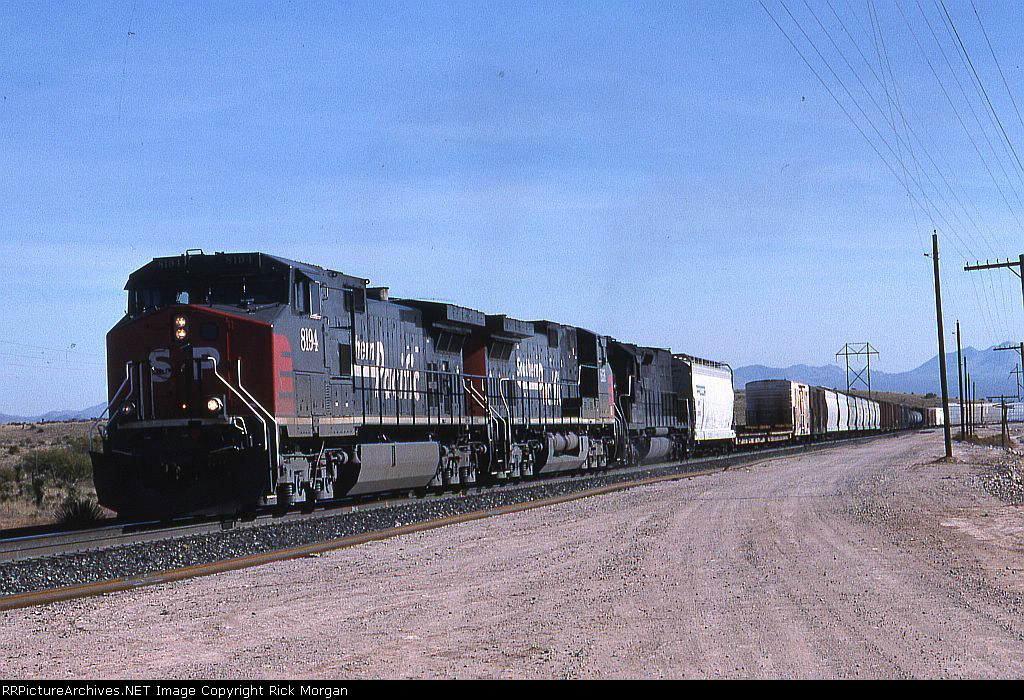 SP Westbound at Mescal