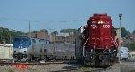 Amtrak departs Burlington