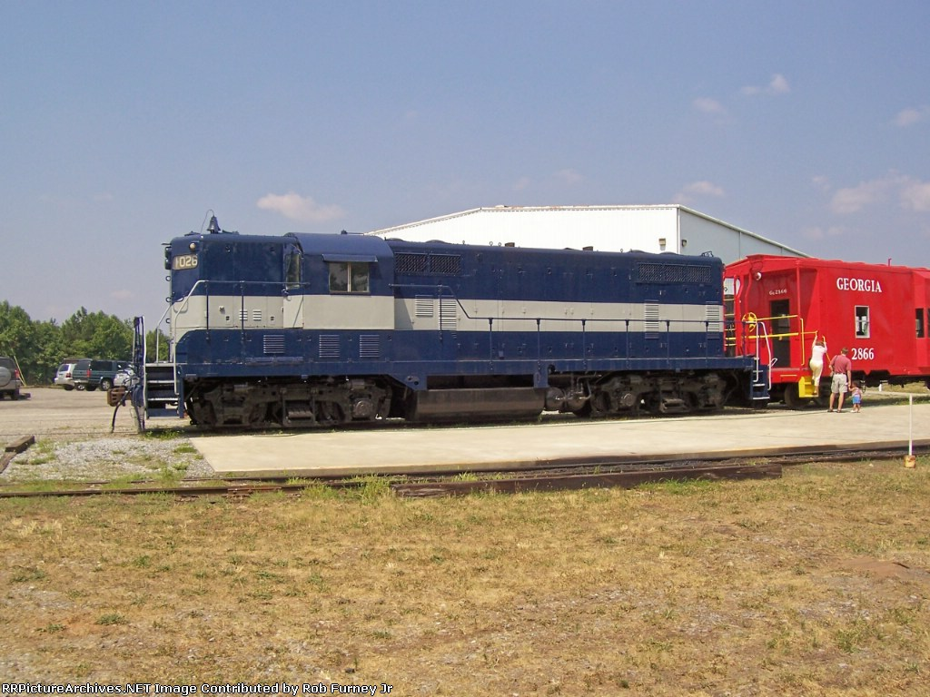 Georgia Railroad No. 1026