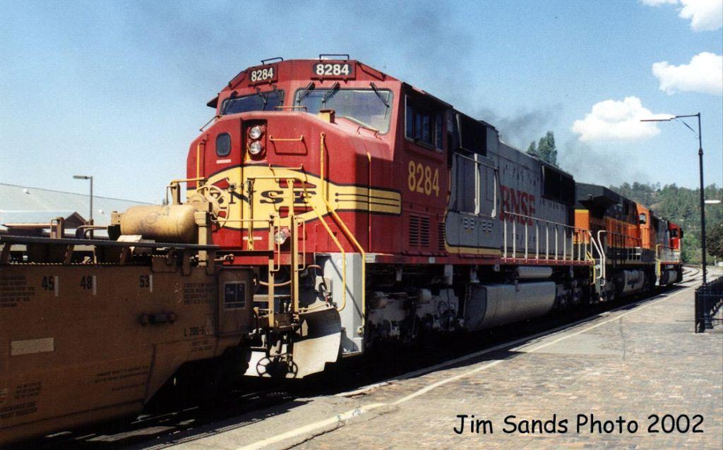 BNSF 8284 2002