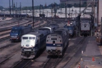 Amtrak's engine facility