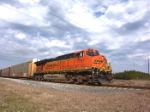 BNSF 7757 running solo