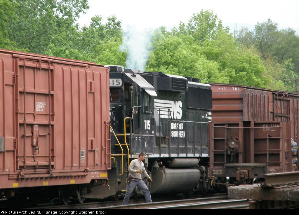 NS 7115 up and running