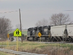 NS 7636 & 8910 taking the grain train through