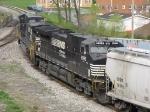 NS 8955 & 9915 shoving their train back