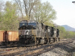 NS 8900 leads her team north through the yard