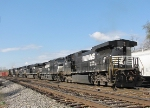 All these units came in on the V92 from Harrisonburg and were likely used on a grain train from the previous day
