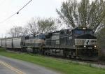 NS 9555 & BNSF 9712