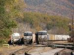 A beautiful spot for a train yard