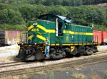 GMR 405 readies to hook up to excursion train