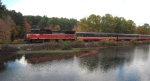 PW 3903 Runs along the French River enroute to Putnam