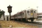 """NYSW THS RDC M-1  is used as a """"cab car"""" on the Marathon maple train"""