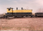 Ex B&O SW-9 120  sits on the scale track near Mayhill Street