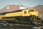 B40-8 # 4030 sits and waits movement to its owner, CSX
