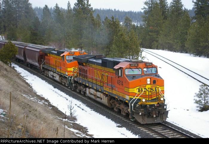 BNSF 4814 West