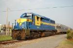SAM Short Line Tourist Train powered by Heart of Georgia Railroad (HOG) EMD GP40 No. 1540