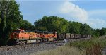 Westbound Coal Empty at Ashland