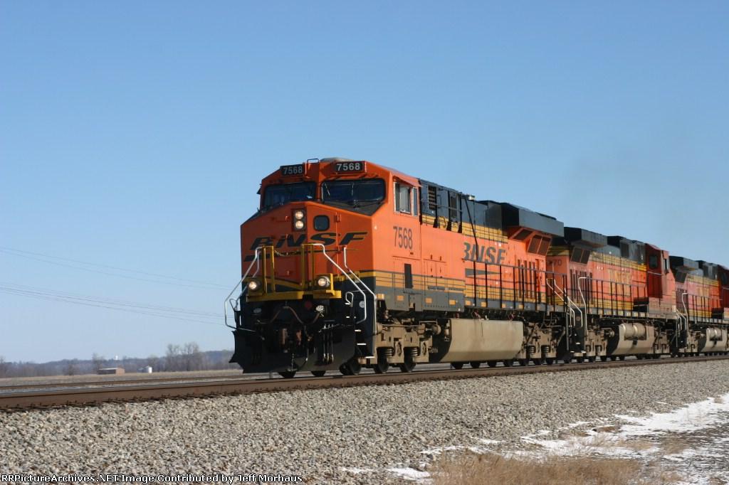BNSF 7568