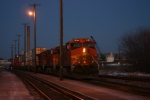 BNSF 5528  A greatway to end the day.