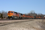 BNSF 6604 leads a WB UPS Z train with a 12 locomotive consist.