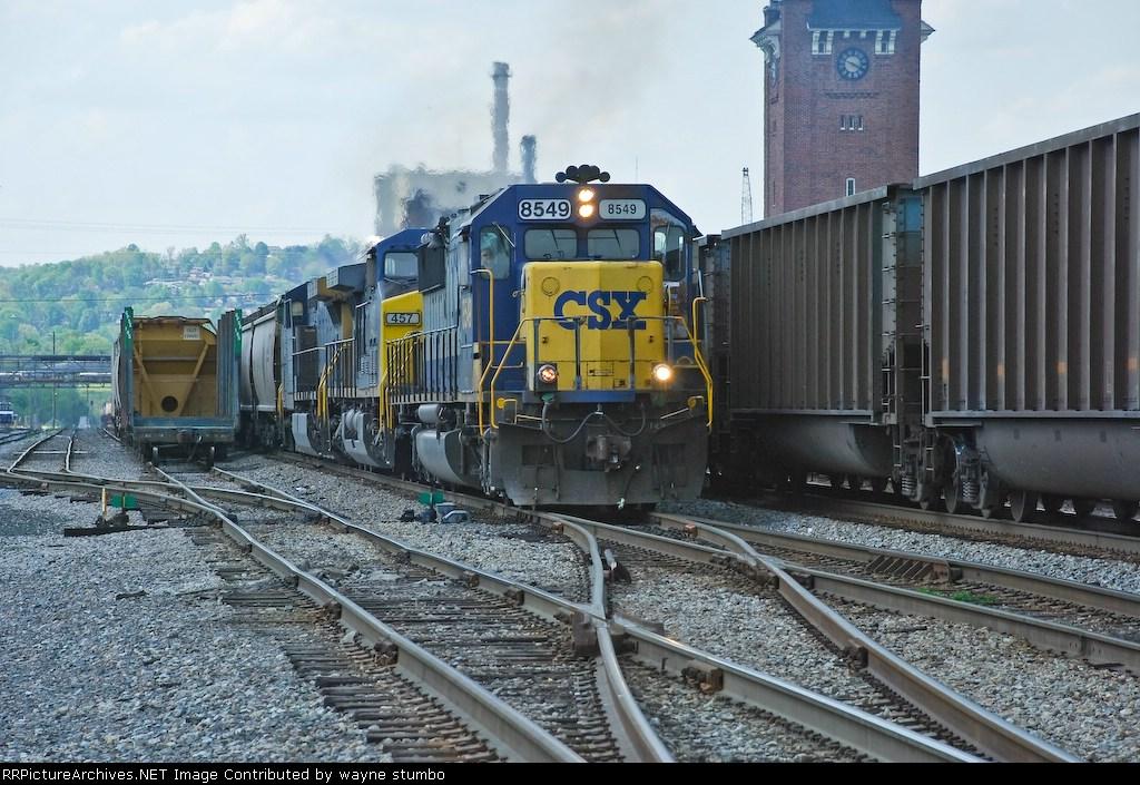 CSX 8549 G984 Southbound Grain Train