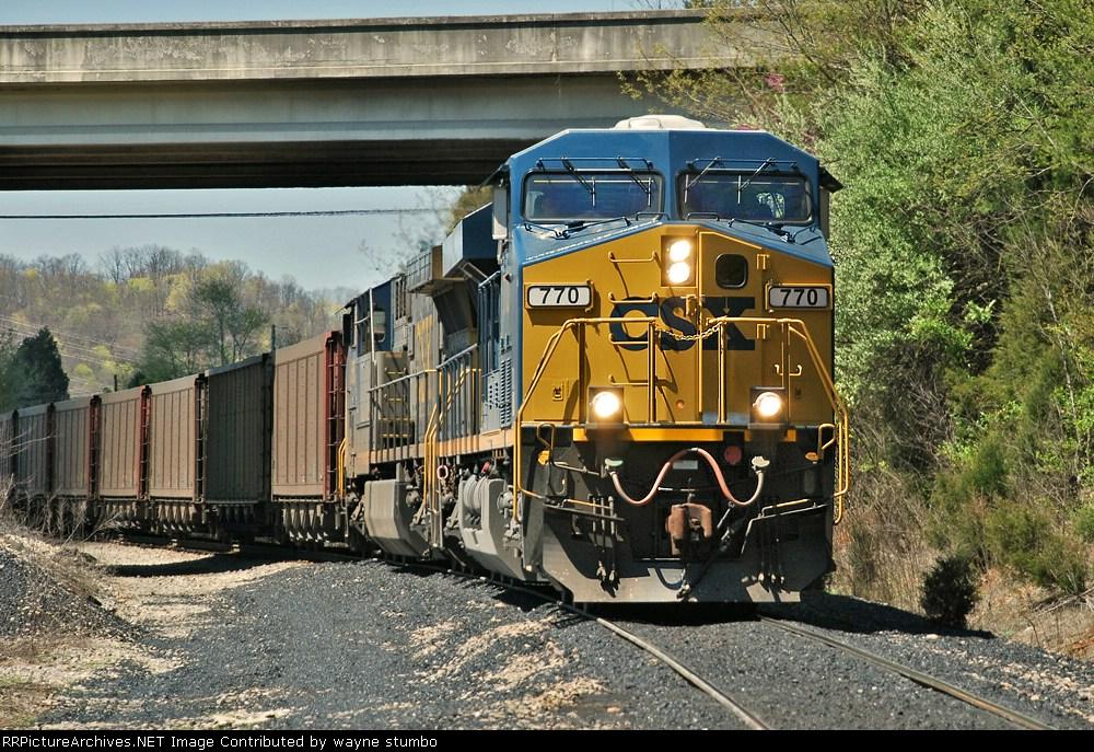 CSX N1142 CSX Kingsport Subdivision