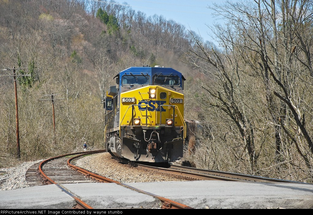 CSX G982 CSX Kingsport Subdivision Waycross, TN