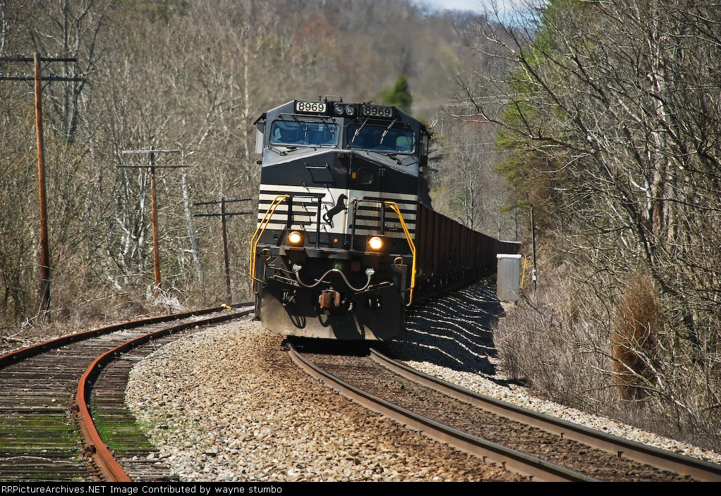 NS 8969 CSX Kingsport Subdivision Waycross TN