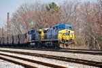 CSX N4425 Southbound coal Carter Yard