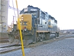 Kingsport Yard CSX 2614 GP38-2