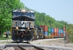 NS 22A empty Intermodal